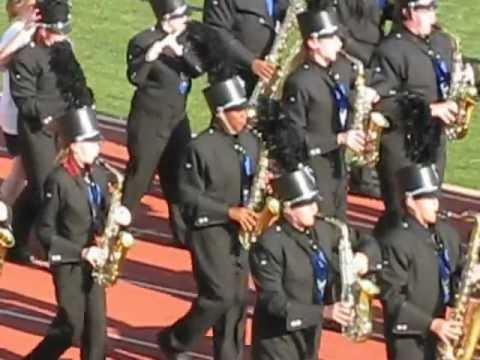 Moore High School band playing Oklahoma 2