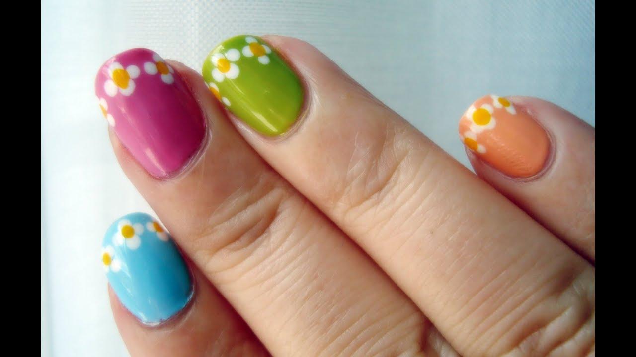 Desafío 31 días: día 14 flores en las uñas / 31 Day Challenge: Day ...