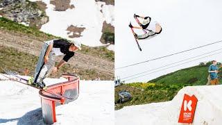 Лыжи летом Один день на Bonus Summer Camp 2021