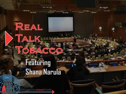 Real Talk Tobacco: Post-2015 Development Agenda