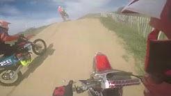 Reprise du motocross terrain des Granges Gontardes (250 CRF)