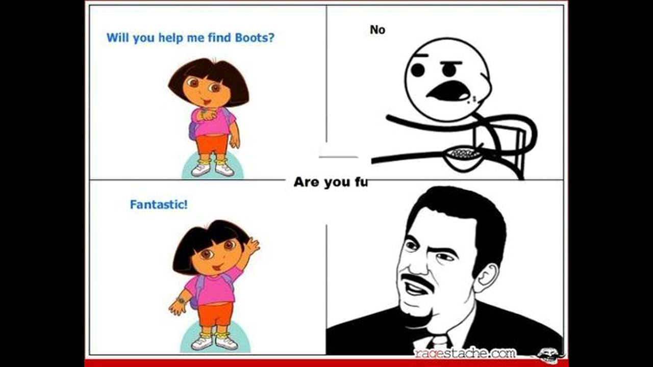 Dora The Explorer Funny Meme Compilation Youtube