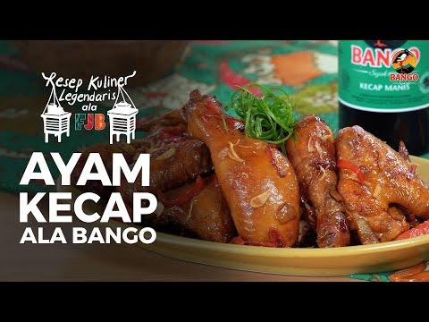 Resep Ayam Kecap Ala Bango Youtube