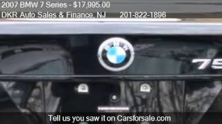 2007 BMW 7 Series 750Li - for sale in TETERBORO, NJ 07608