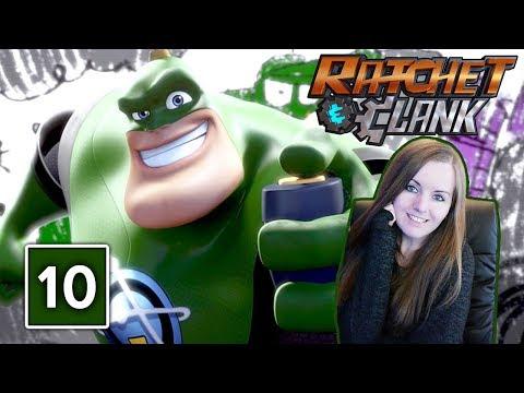 QUARTU  Ratchet and Clank PS4 Gameplay Walkthrough Part 10