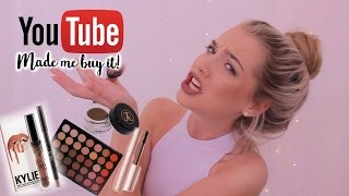 YOUTUBE MADE ME BUY IT! worth the hype? makeup look
