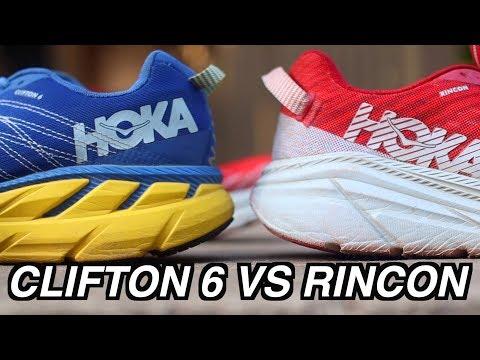 HOKA CLIFTON 6 VS RINCON | WHICH ONE IS BETTER! COMPARISON