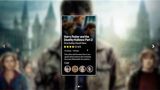 Coming Soon -  HTML || CSS Movie Review System UI with Carousel