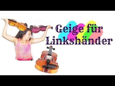 Eine Linkshänder-Geige kann vieles verändern!