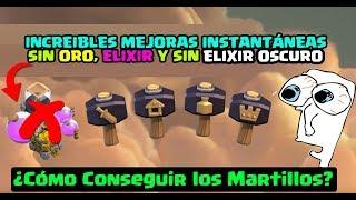 ¿Cómo Conseguir El Martillo?: Mejoras Instantáneas SIN ORO, SIN ELIXIR OSCURO ǀ ECOC