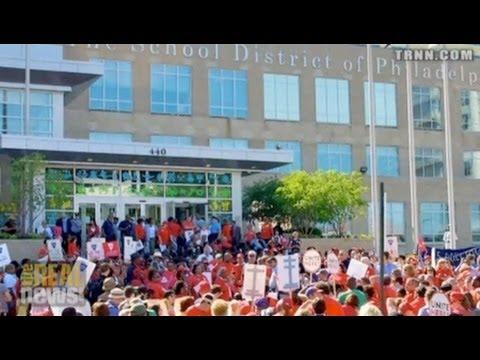 Hundreds Rally to Fight for Philadelphia Public Schools