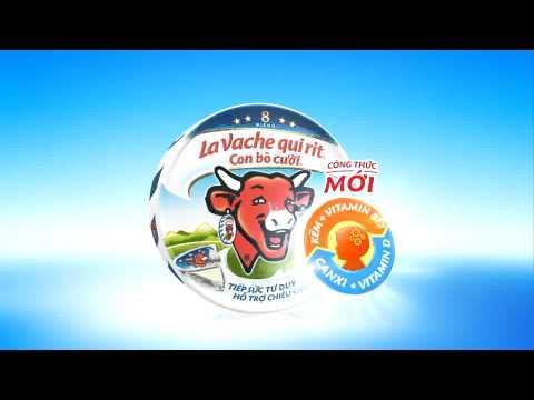 Quảng cáo phô mai Con Bò Cười Công Thức Mới - 2014 (5s)