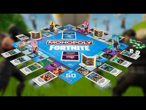 We Play Fortnite Monopoly Youtube