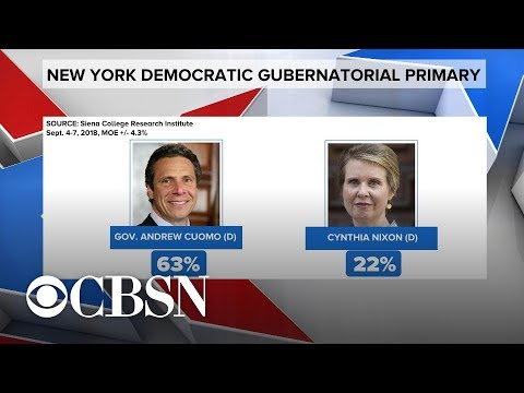 Andrew Cuomo, Cynthia Nixon face off in New York gubernatorial primary Mp3