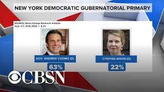 Andrew Cuomo, Cynthia Nixon face off in New York gubernatorial primary