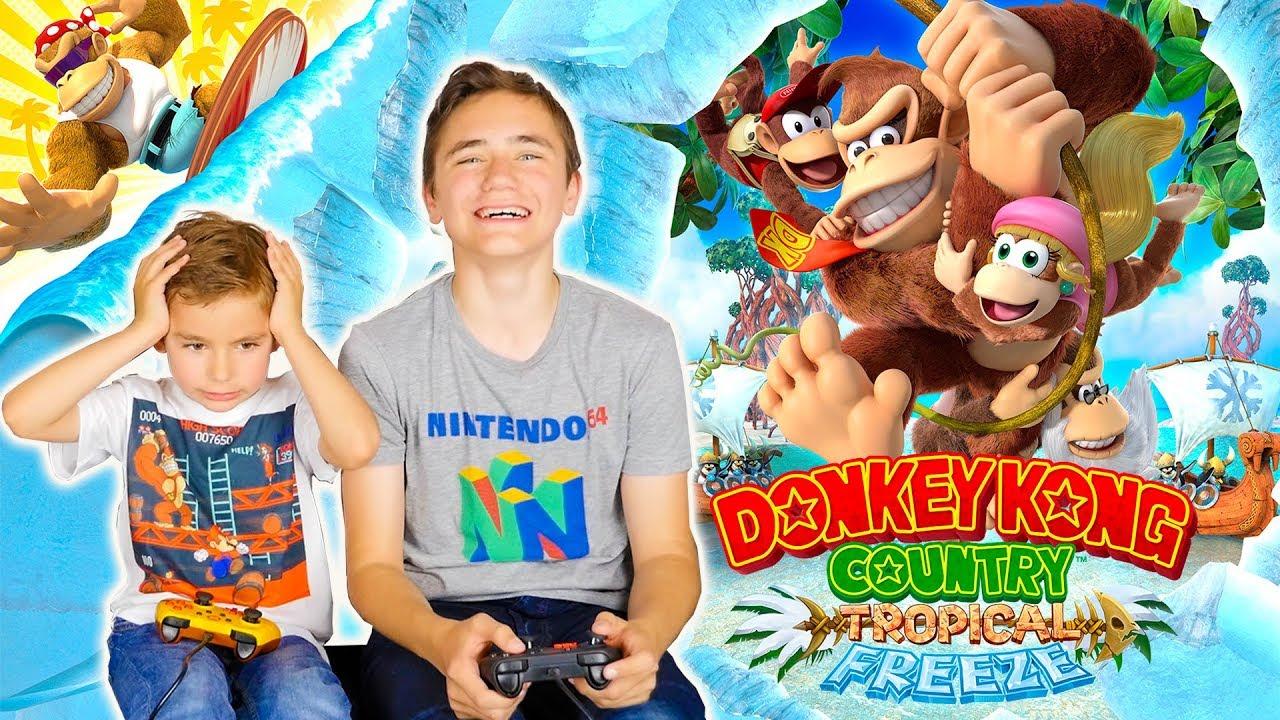 SWAN RAGE SUR DONKEY KONG COUNTRY TROPICAL FREEZE sur Nintendo Switch !