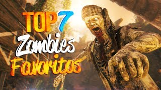 TOP 7 Mis Zombies Especiales Favoritos / Call of Duty Zombies