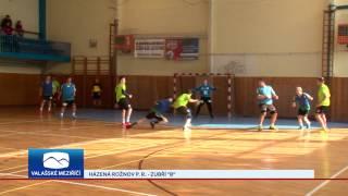 Házenkáři Rožnova dokázali v derby porazit béčko Zubří o pět gólů