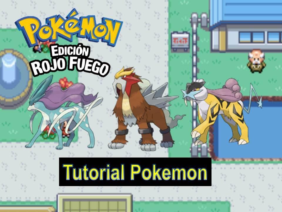 Como Conseguir A Suicune Entei Y Raikou Tutorial Pokemon Rojo Fuego Youtube