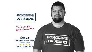 Honoring our Heroes Veteran Steve│VIDEO │Kroger