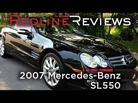 2007 Mercedes-Benz SL550 Review, Walkaround, Exhaust & Test Drive