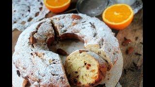 Как приготовить кекс с сухофруктами.  Быстрая выпечка к чаю