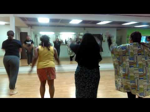 My African dance called  Felix drum dance