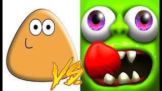 Pou vs Zombie Tsunami Gameplay HD