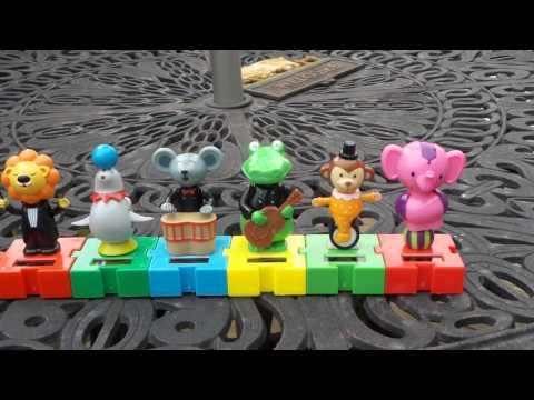Dollar Tree Circus Solar Toys