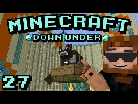 Minecraft Down Under S2 - Episode 27 -  Fences Instead of Signs?! That's Madness!