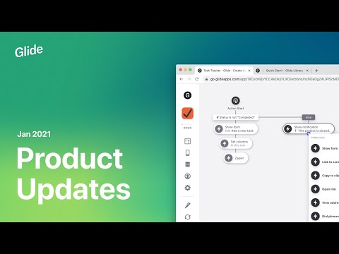 Glide Product Updates January 2021