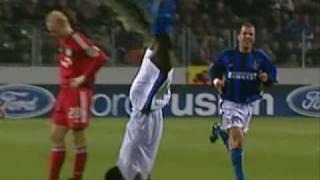 vuclip 2002-2003 Champions League - Bayer Leverkusen vs Inter 0-2