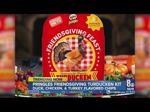 Nick Wize - Pringles Releasing Their 'Friendsgiving' Feast Turkducken Flavored Chips