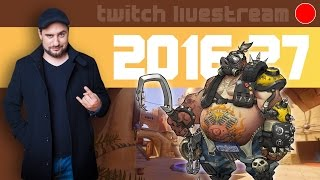 Let's Play Livestream 2016 #27 - Cabals, Overwatch