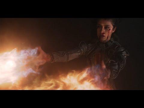Йеннифэр сжигает армию Нильфгаарда \ Ведьмак The Witcher 1 сезон 8 серия