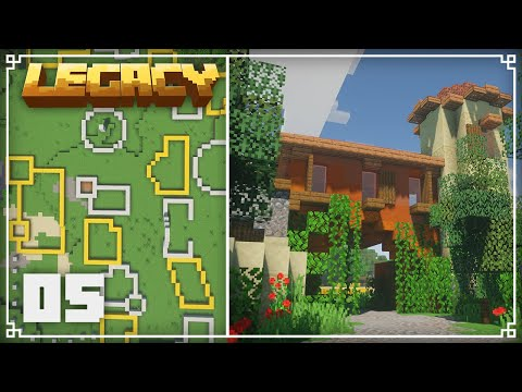 Legacy SMP | Starting My Tuscan City! | Episode 5
