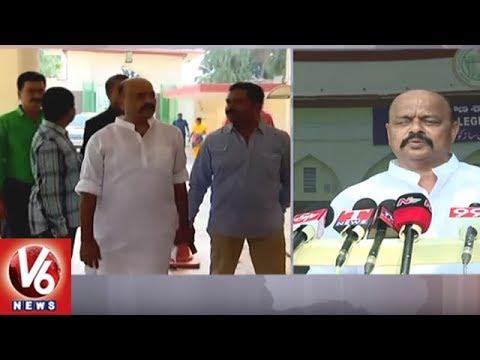 Warangal Congress Leader Konda Murali Resigns As MLC Post | V6 News
