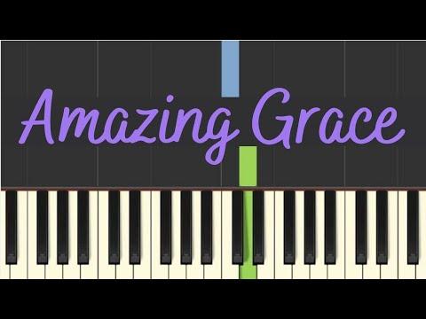 Easy Piano Tutorial: Amazing Grace