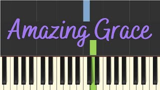 Gambar cover Easy Piano Tutorial: Amazing Grace