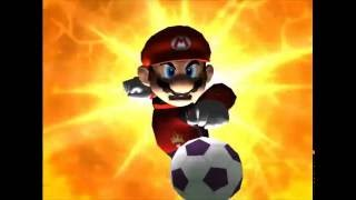Super Mario Strikers Gameplay