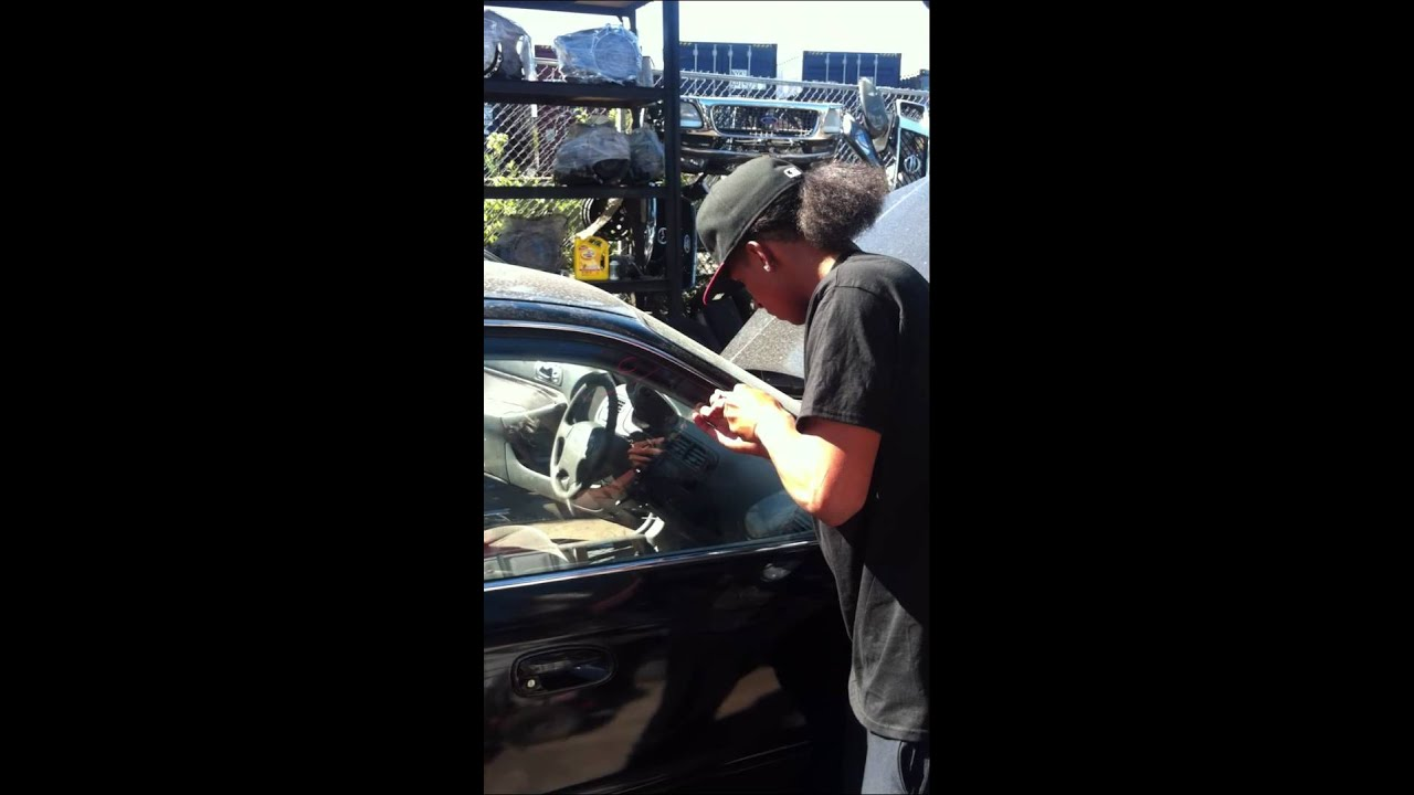 How To Open A Honda Car Without Keys Or Mess Works On Most Cars
