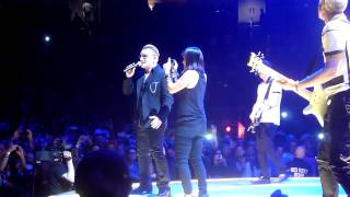 U2 performing When Love Comes To Town live @ SAP Center in San Jose CA 5/18, 2015