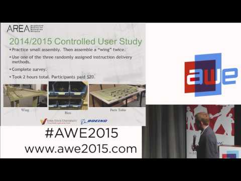 Paul Davies (Boeing) - How to measure enterprise AR impacts in the enterprise at AWE 2015