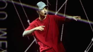 "Justin Bieber ""Red Hot"" ""What Do You Mean"" MTV EMA 2015 Performance"