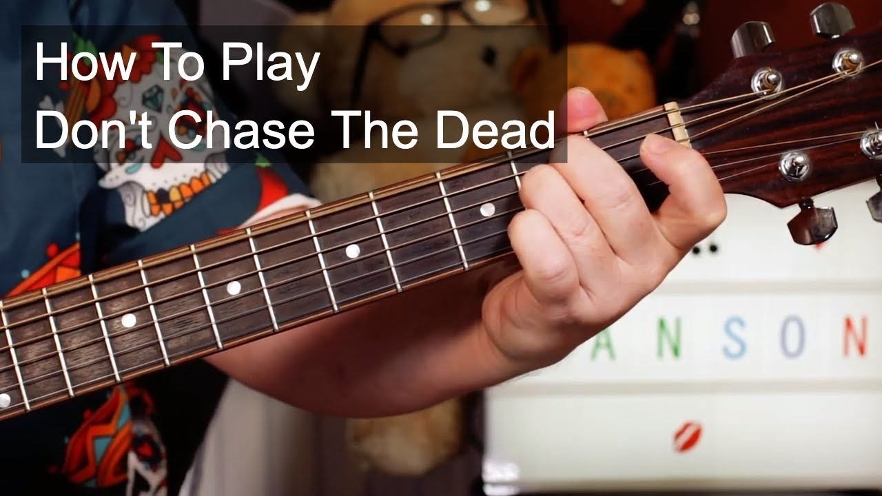 'Don't Chase The Dead' Marilyn Manson Easy Acoustic Guitar Lesson