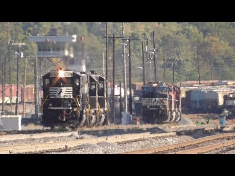 [3j] Rail Yards Never Sleep: Norfolk Southern Brosnan Yard Macon GA, Part 2/2, 09/30/2016 ©mbmars01