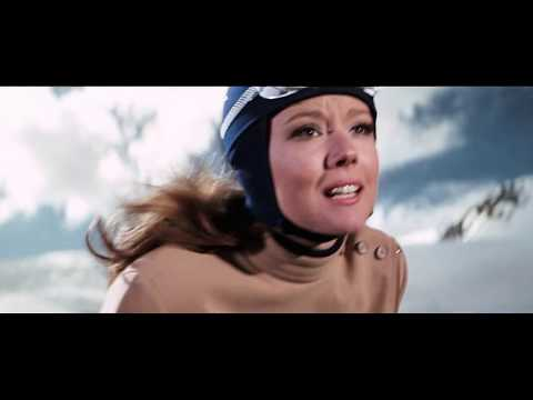 On Her Majesty's Secret Service - Aerial Ski And Avalanche Scene
