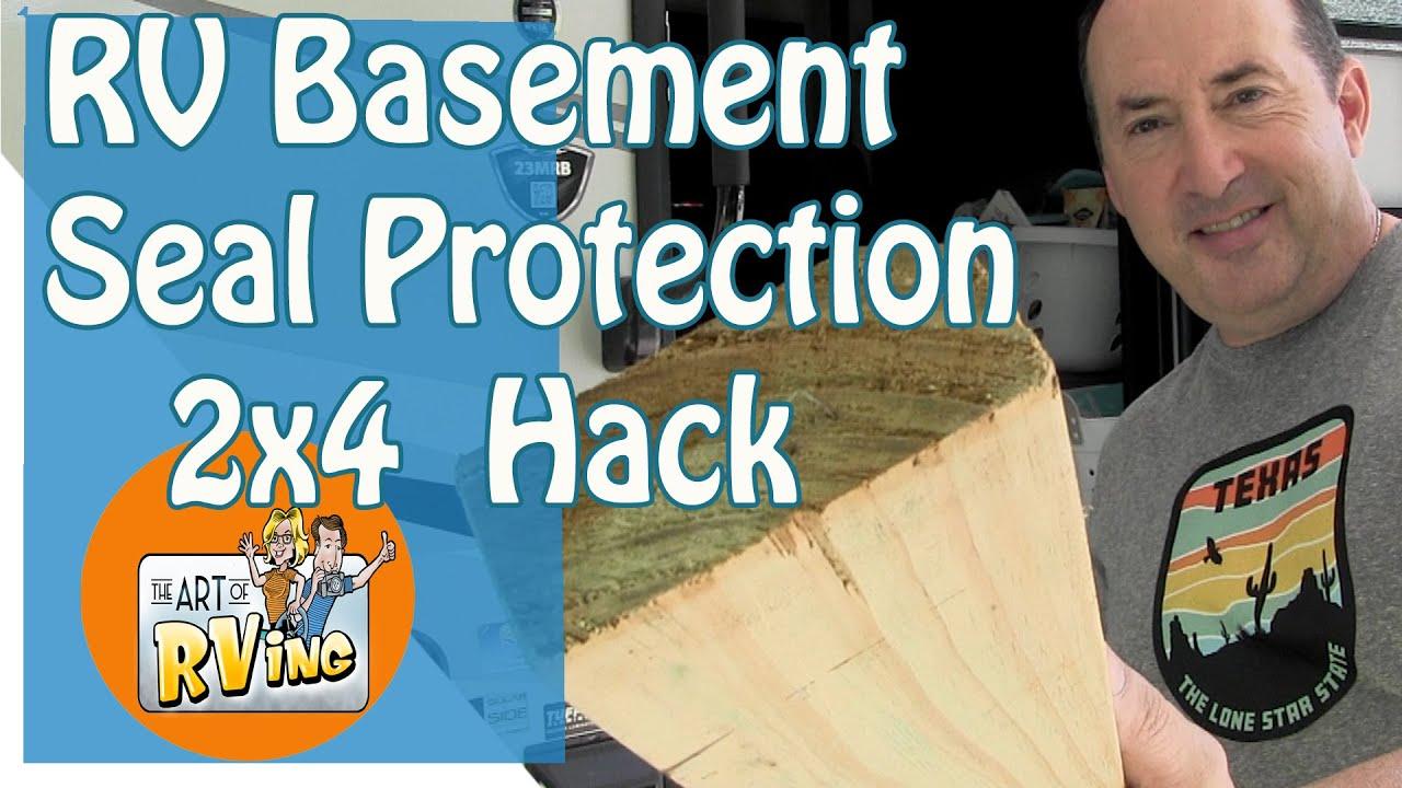 2X4 Basement Seal Protection Hack | RV Seals