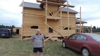 Отзыв о строительстве дома из бруса 8х8  - компания Бревдом www.brewdom.ru(, 2015-07-21T17:10:39.000Z)
