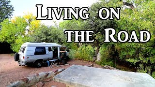 New Mexico to Arizona - Living on the Road
